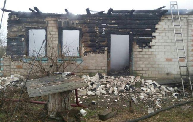 В Черниговской области на пожаре жилого дома погибли 2 человека