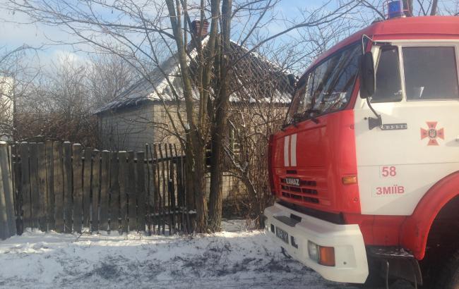 В Харьковской области в результате пожара погибли 2 человека