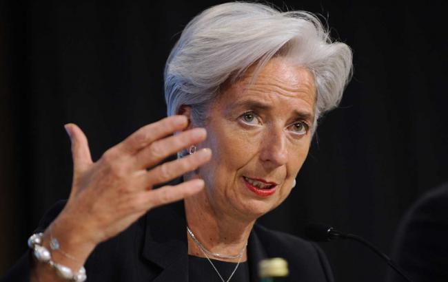 Кристин Лагард призвала Украину ускорить темп реформ