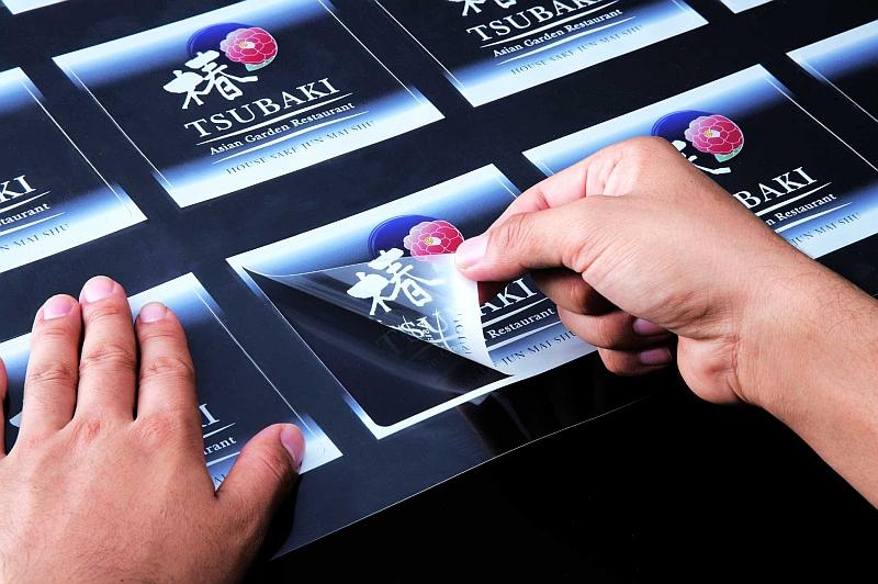 Качественная печать наклеек
