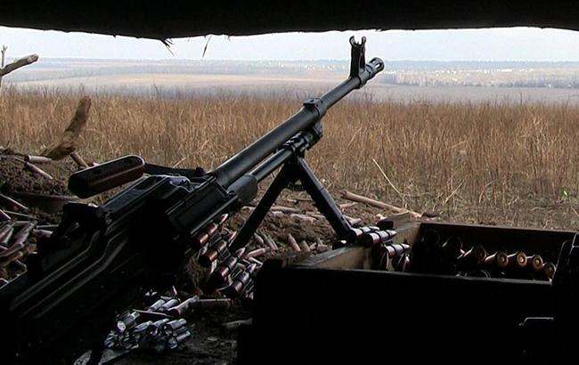 В зоне АТО вследствие обстрелов ранено украинского военнослужащего