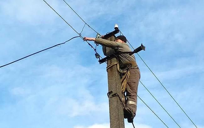 В Одесской области 288 населенных пунктов остаются без электричества