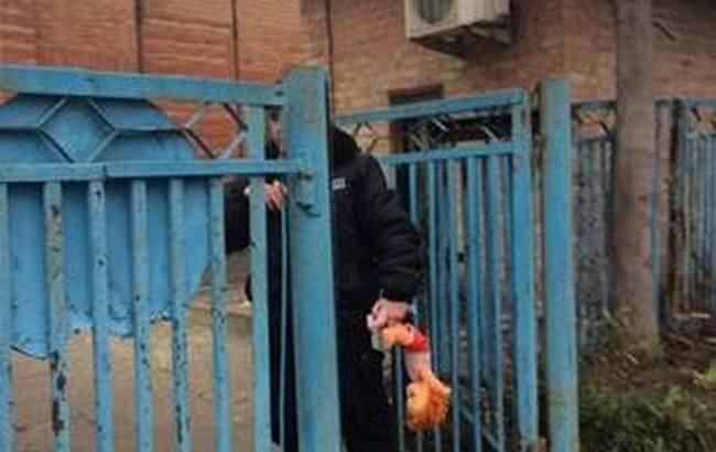 В Запорожье после избиения бойца АТО возле храма собрались активисты