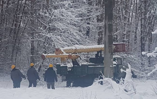 Непогода в Украине: водоснабжение Черкасс восстановлено