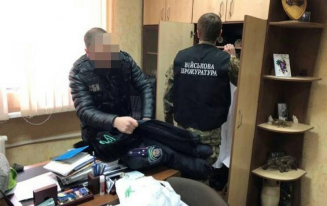 В Кировоградской области на взятке задержали начальника военно-врачебной комиссии