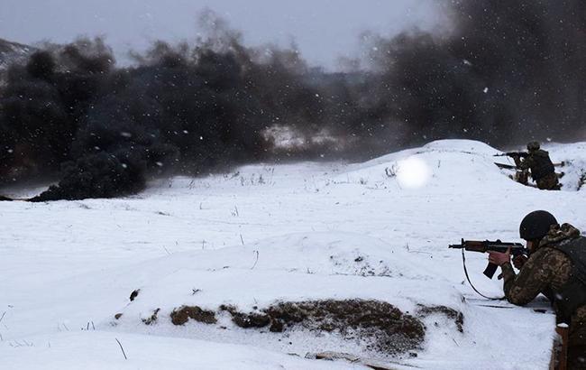 В зоне АТО за сутки умер один украинский военнослужащий