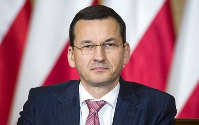 Польша помагает снизить напряжение на востоке ЕС, принимая беженцев из Украины, - Моравецкий