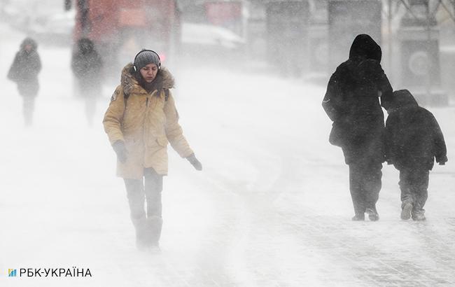 Погода на сегодня: температура от -6, почти по всей Украине снег