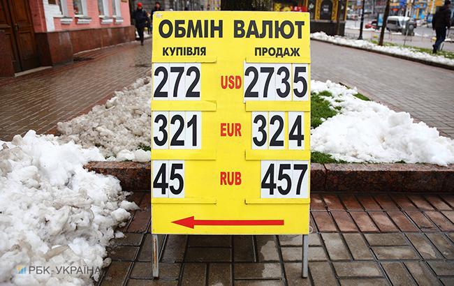 Наличный курс доллара в продаже повысился до 28,72 гривны/доллар