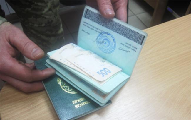 Пограничникам за 2017 год предлагали взяток на более чем 1 млн гривен