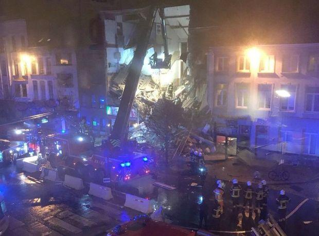 В Бельгии в результате взрыва обрушился жилой дом