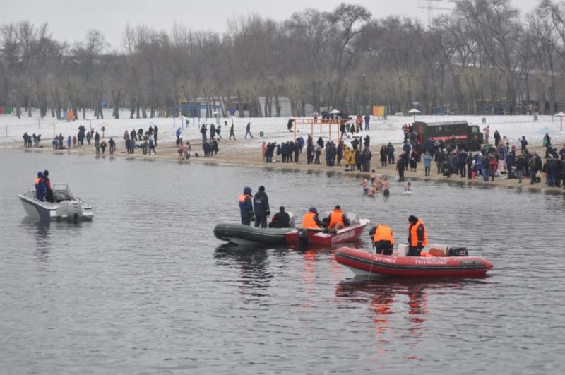 Празднование Крещения в Украине прошло без чрезвычайных ситуаций, - ГСЧС