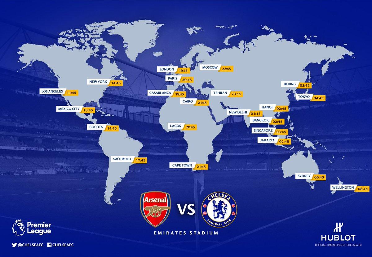 Арсенал - Челси: где смотреть матч