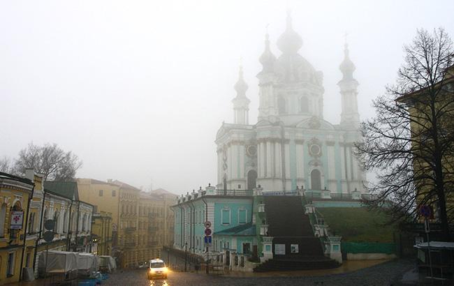 Синоптики предупреждают о тумане в Киеве и области