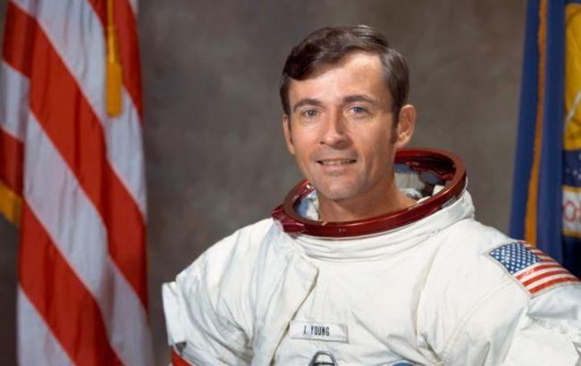 В США умер побывавший на Луне астронавт Джон Янг