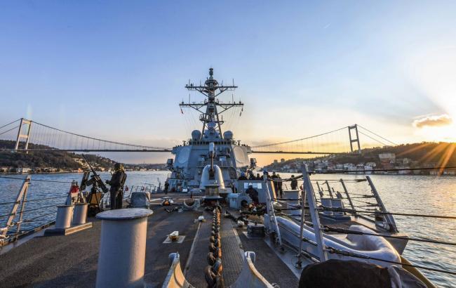 Эсминец флота США вошел в Черное море впервые в 2018 году