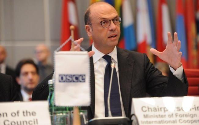 Глава ОБСЕ Альфано рассказал, что нужно для мирного урегулирования на Донбассе