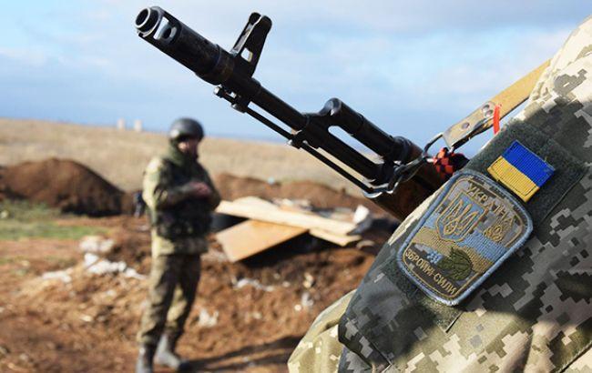 На Донбассе боевики провели 2 обстрела сил АТО, - штаб