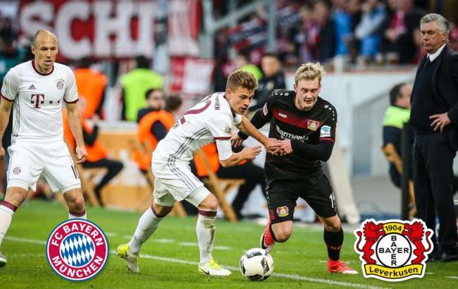 Байер - Бавария: онлайн трансляция матча