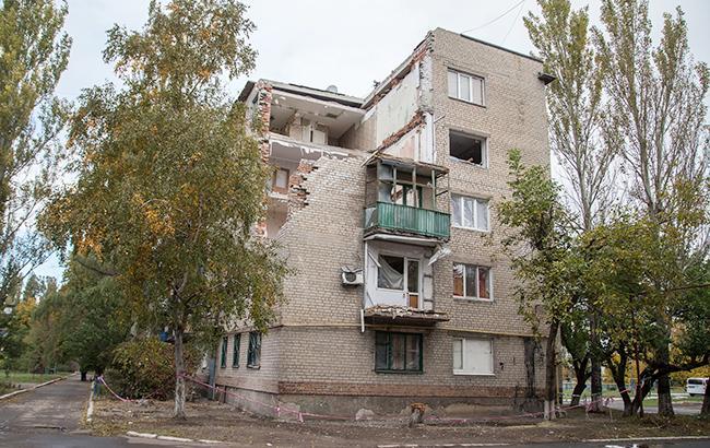 В Луганской ВГА заявили об отсутствии механизма восстановления домов на Донбассе
