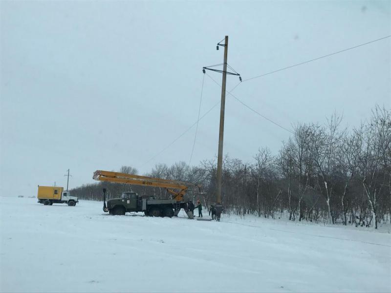 Непогода в Украине: в Одесской области без электроснабжения остаются 79 населенных пункта