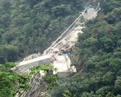 В Колумбии обрушился мост, 10 человек погибли