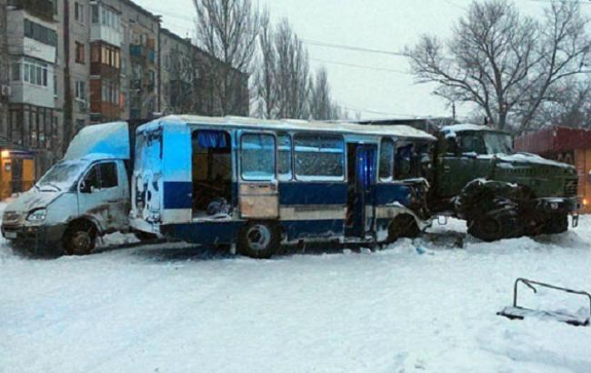 Полиция возбудила дело по факту ДТП с шахтерами в Донецкой области
