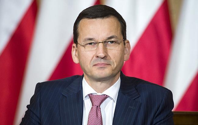 Премьер Польши выступил за запрещение организаций, пропагандирующих тоталитаризм