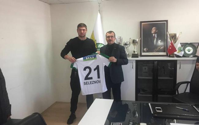 Селезнев забил в дебютном матче за