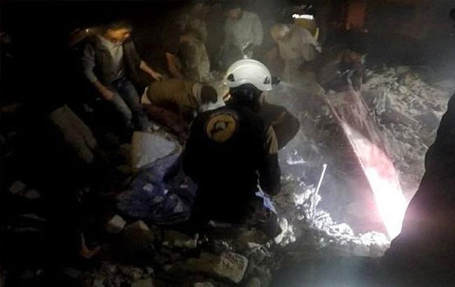 В Сирии в результате авиаударов российских самолетов погибли 17 мирных жителей