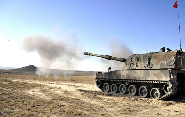 Армия Турции заняла несколько позиций курдов на севере Сирии