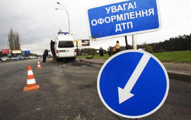 В Киеве произошло ДТП с участием судьи