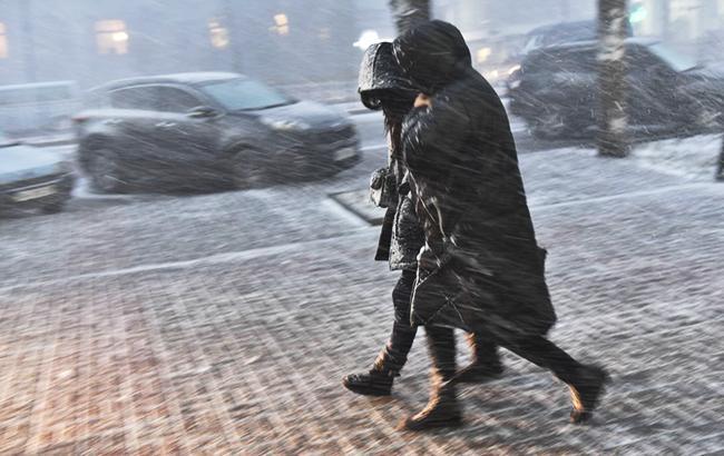 Погода на сегодня: температура от -8, местами мокрый снег с дождем