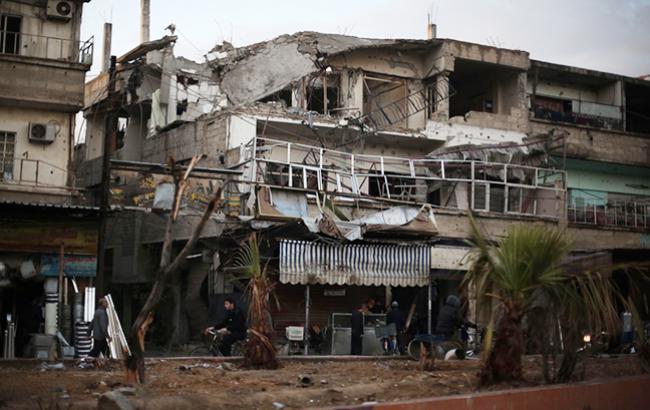 В Сирии оппозиция перешла в наступление в Восточной Гуте