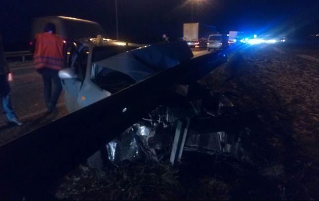 В Ровенской области в ДТП травмировался мужчина