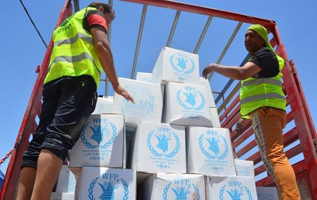 ООН прекращает программу продовольственной помощи на Донбассе