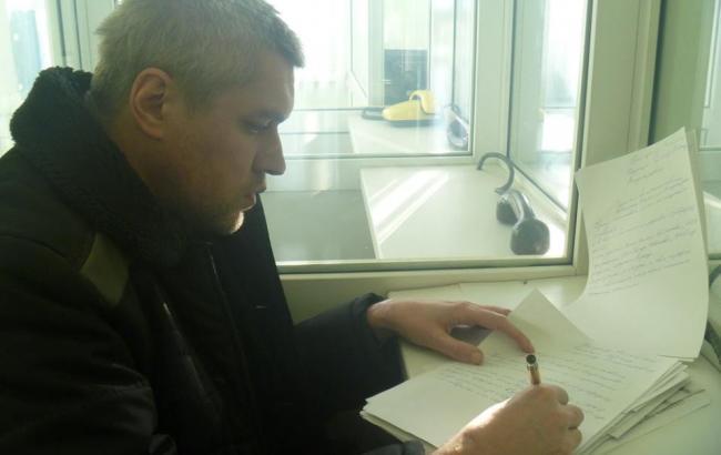 В России к политзаключенному украинцу Клыху пустили адвоката