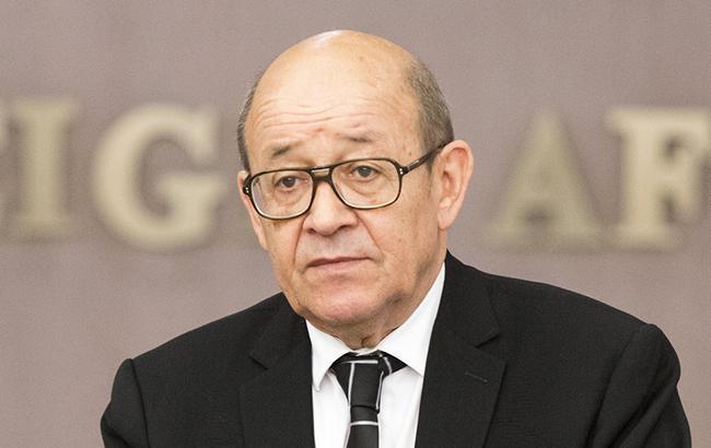 Глава МИД Дриан заявил, что Франция будет партнером Украины относительно актуальных вызовов