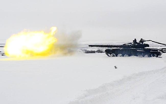 В Луганской области боевики провели учения танкистов и артиллеристов, - разведка