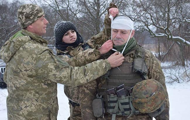 В зоне АТО в результате обстрелов ранено двое военных