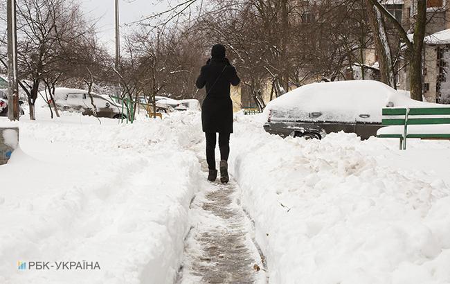 Погода на сегодня: в Украине местами снег, температура до +7