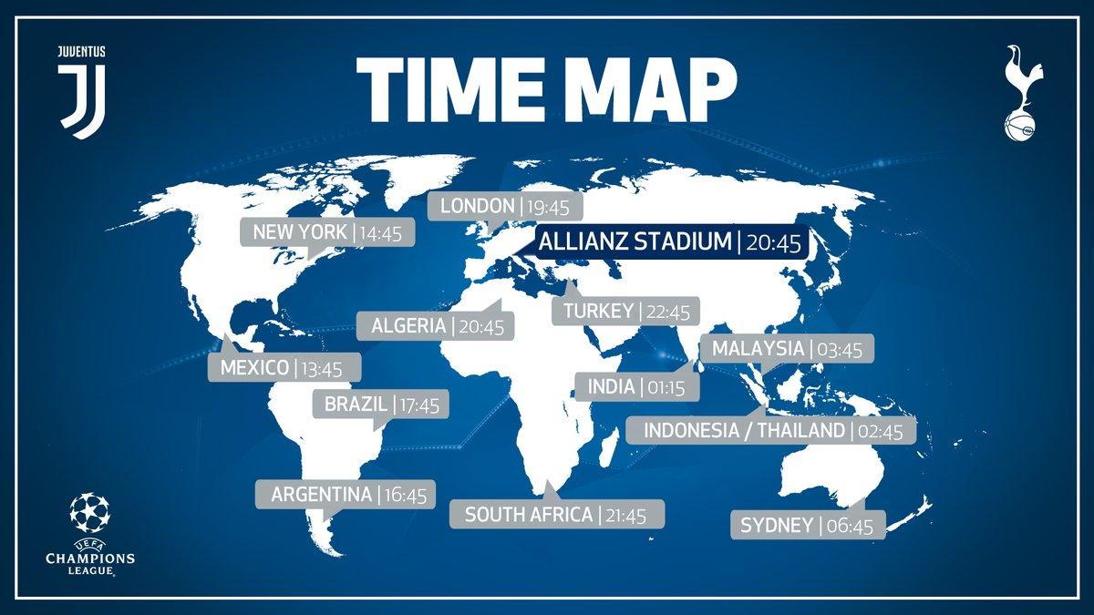 Ювентус - Тоттенхэм: где смотреть матч