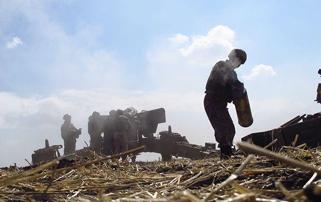 Боевики с разрешения командования обстреляли силы АТО на Светлодарской дуге