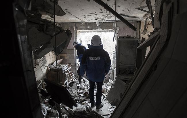 ОБСЕ зафиксировала 216 взрывов на Донбассе