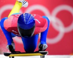 Украина дебютировала в скелетоне на Олимпийских играх