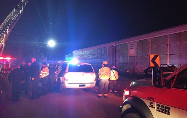 Столкновение поездов в США: число пострадавших возросло до 70