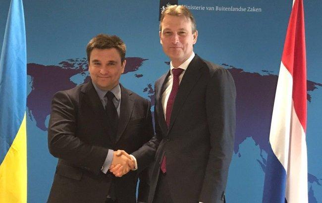 Климкин договорился с министром иностранных дел Нидерландов о взаимодействии между странами