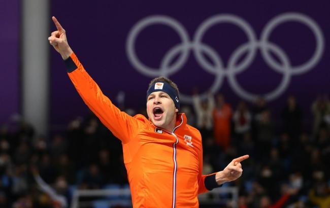 Голландский конькобежец Крамер стал четырехкратным олимпийским чемпионом