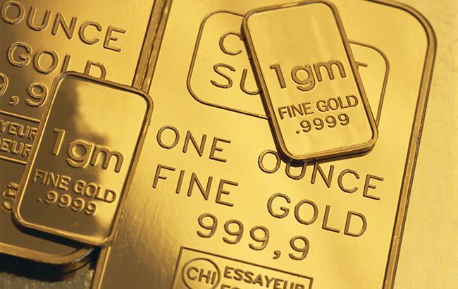 НБУ повысил курс золота до 375,08 тыс. гривен за 10 унций