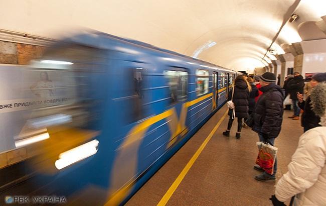 В Киеве станция метро